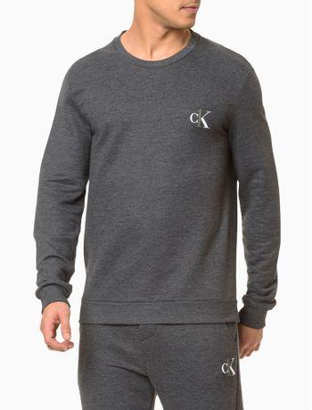 Moletom-Masculino-CK-One-Chumbo-Loungewear-Calvin-Klein