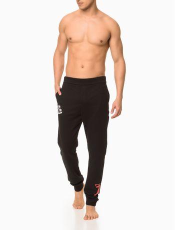 Calca-Moletom-Masculina-CK-One-Preta-Loungewear-Calvin-Klein