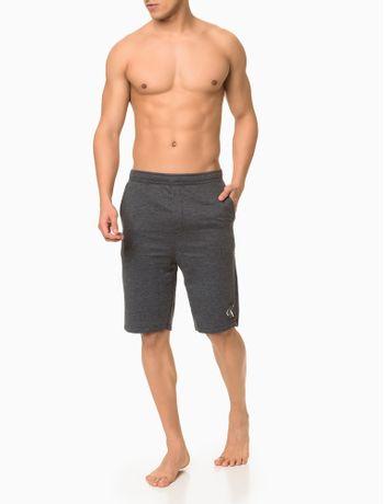 Bermuda-Moletom-Masculina-CK-One-Chumbo-Loungewear-Calvin-Klein
