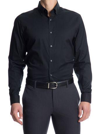 Camisa-Basica-Manga-Longa-Slim-Masculina-Preta-