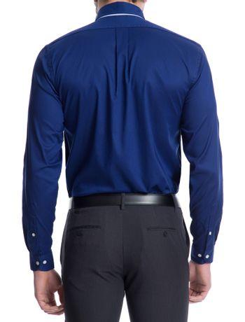 Camisa-Basica-Manga-Longa-Slim-Masculina-Azul-
