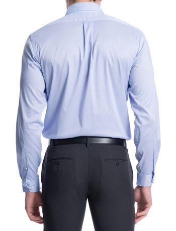 Camisa-Basica-Manga-Longa-Slim-Masculina-Azul-Claro