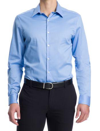 Camisa-Manga-Longa-Slim-Fit-Van-Heusen---Azul-Escuro
