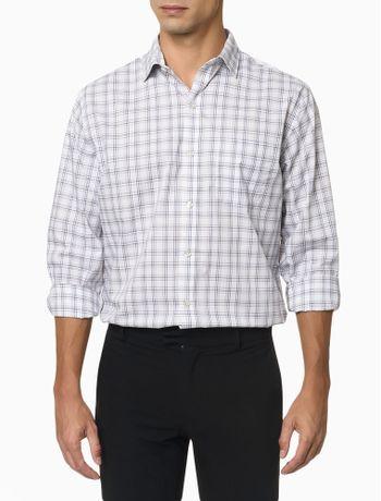 Camisa-Manga-Longa-Regular-Xadrez-Medio-Van-Heusen---Bordo
