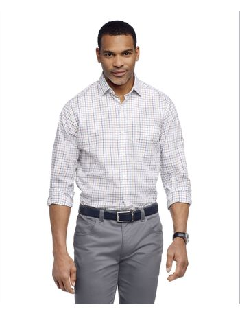 Camisa-Manga-Longa-Regular-Xadrez-Medio-Van-Heusen---Preto