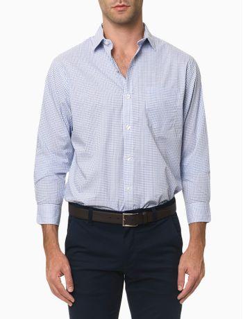 Camisa-Manga-Longa-Regular-Xadrez-Van-Heusen---Branco