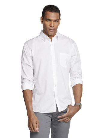 Camisa-Manga-Longa-Slim-Tricoline-Basica-Van-Heusen---Branco