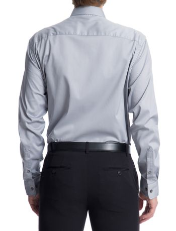 Camisa-Manga-Longa-Slim-Fit-Van-Heusen---Cinza-Claro