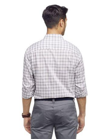 Camisa-Manga-Longa-Regular-Xadrez-Medio-Van-Heusen---Branco