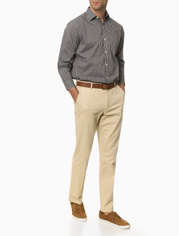 Camisa-Manga-Longa-Regular-Xadrez-Bicolor-Van-Heusen---Preto