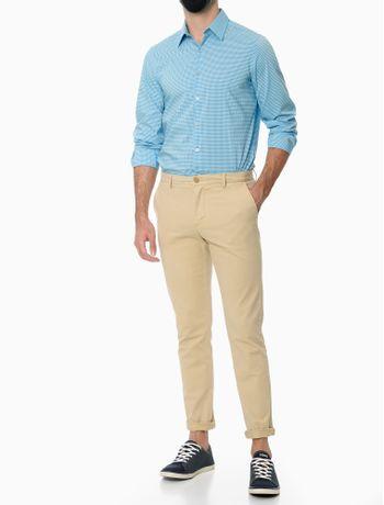 Camisa-Estampada-Manga-Longa-Regular-Masculino-Azul