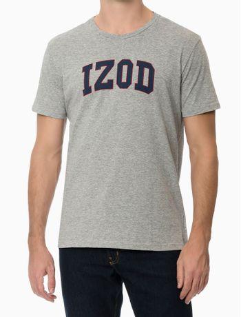 Camiseta-Estampada-College-Manga-Curta-Regular-Masculino-Cinza-Mescla